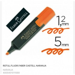 FLUORESCENTES FABER-CASTELL naranja